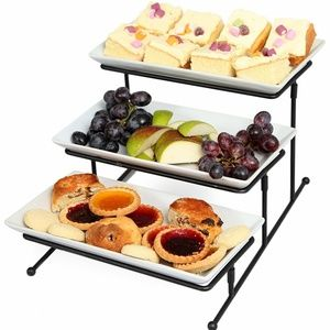 Other - 3 Tier Serving Tray Tiered Stand White